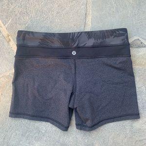 lululemon athletica Shorts - Lululemon | floral waist grove shorts Reversible
